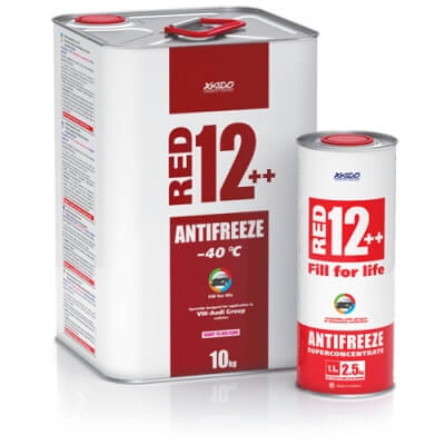 Антифриз для двигателя Antifreeze Red 12++ -40⁰С
